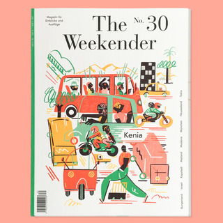 THE WEEKENDER – 2018  Cover for Issue No 30